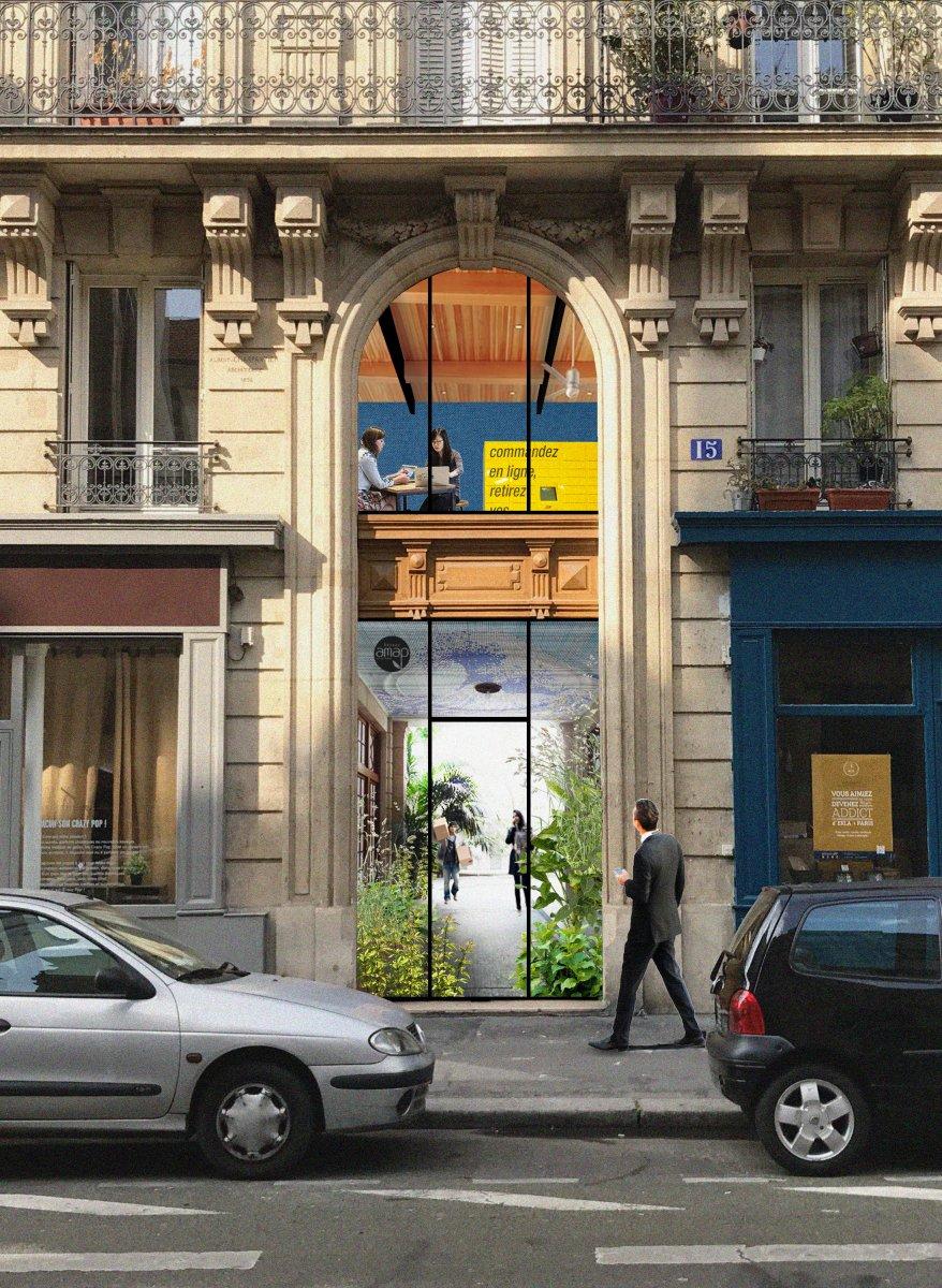 Faire Paris: Hall contributif - Majma